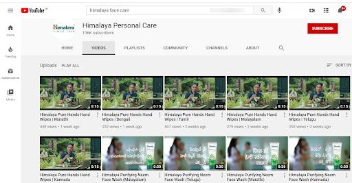Himalaya Face Wash Marketing Strategy and Case Study - Himalaya Face Wash Digital Marketing Presence - Youtube