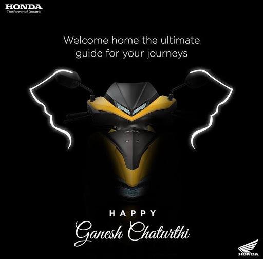 Honda Digital Marketing Strategy Case Study - Honda Social Media Marketing - Ganesh Chaturthi