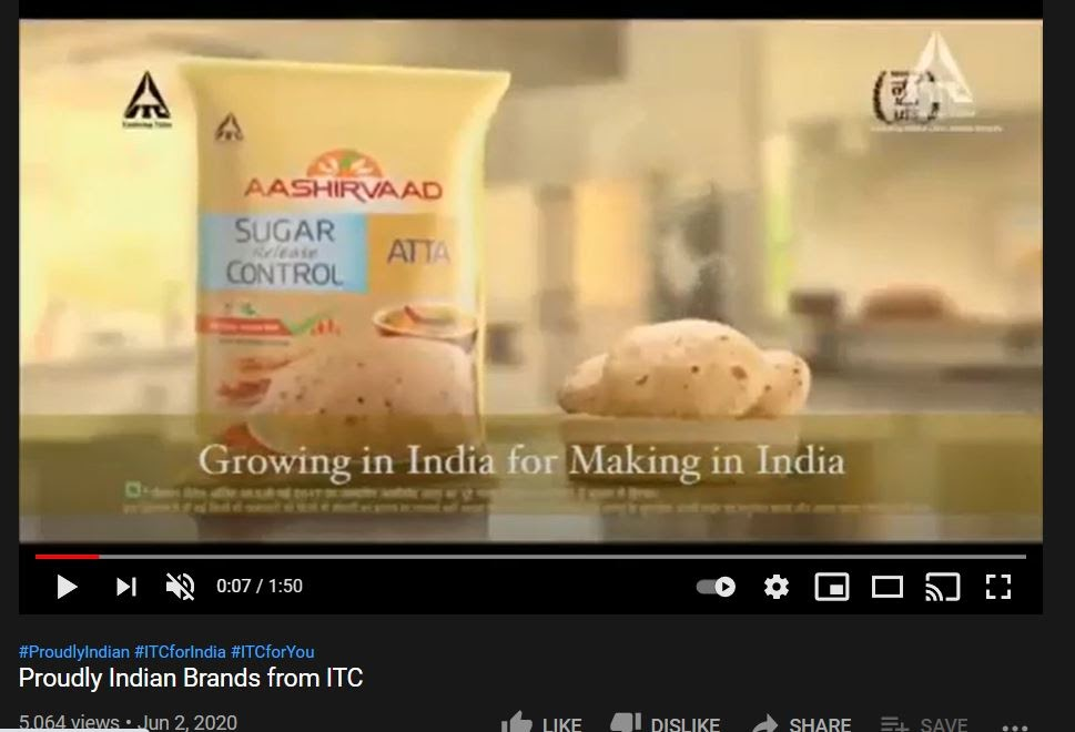 ITC Marketing Strategy and SWOT Analysis - ITC Marketing Campaigns - #proudly Indian campaign