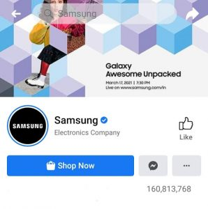 LG Marketing Strategy India Case Study - LG Competitor Analysis on Social Media Advertising Strategy - Facebook - Samsung