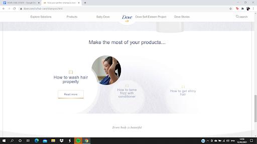 Marketing Strategies of Dove - Dove's Marketing Strategy - SEO Case Study - Consumer insight