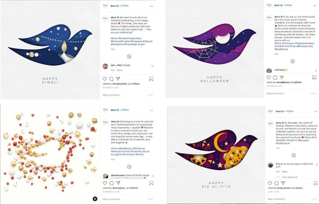 Marketing Strategies of Dove - How Dove Has Evolved - Festivals
