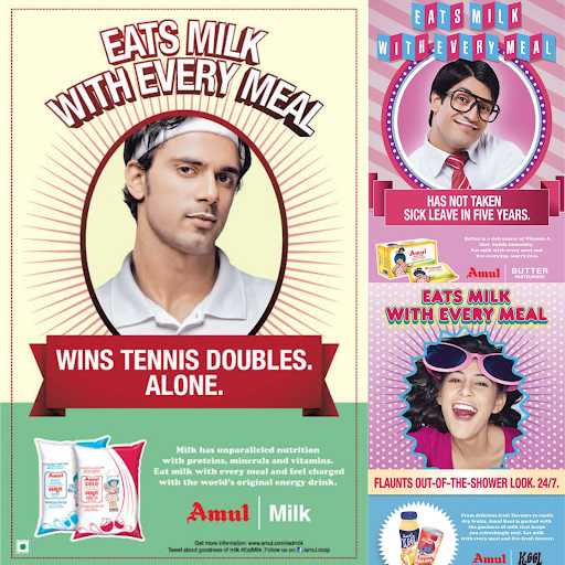 Marketing Strategy of Amul Case Study - Amul's Digital Marketing Strategy - Amul on Facebook and Instagram - Eat Milk With Every Meal