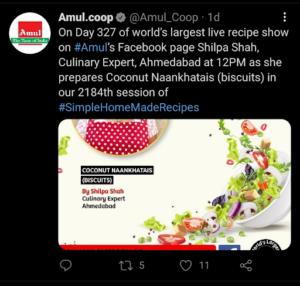Marketing Strategy of Amul Case Study - Amul's Digital Marketing Strategy - Twitter
