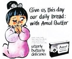 Marketing Strategy of Amul Case Study - Amul's Marketing Campaigns and Strategy - Amul Butter Girl's first-ever ad copy released in 1967