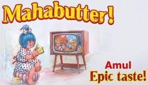 Marketing Strategy of Amul Case Study - Amul's Marketing Campaigns and Strategy - The Story of the Amul Girl India's Most Loved Ad Icon - Advertisements