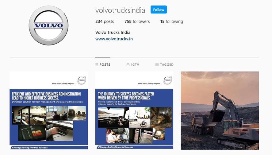 Marketing Strategy of Ashok Leyland - A Case Study - Competitors - Volve - Instagram