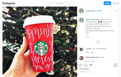 Starbucks Marketing Strategy Case Study - Marketing Strategies of Starbucks - Community-based campaigns