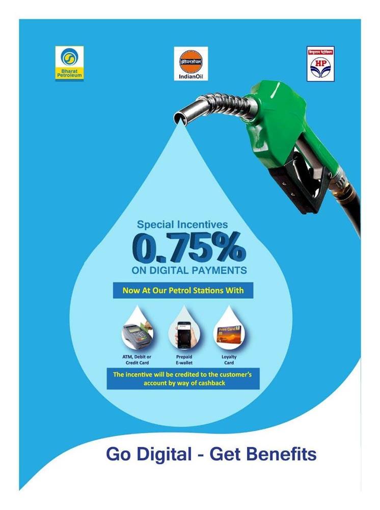 BPCL Marketing Case Study - Marketing and Advertising Campaign - Go Digital Go Cashless