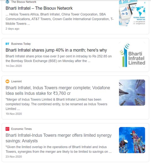 Bharti Infra & Indus Towers Marketing Strategy Case Study - Marketing Mix - Promotion Strategy