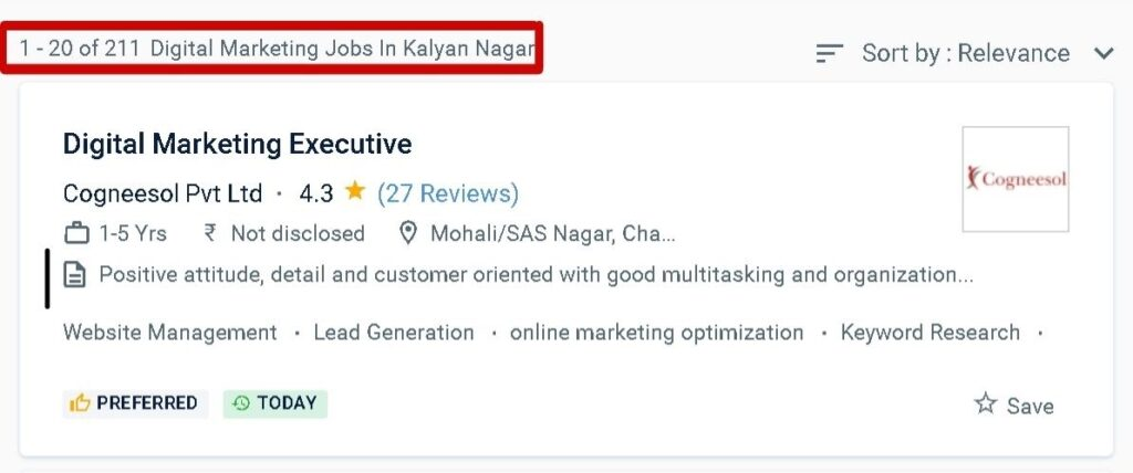 digital marketing courses in Kalyan Nagar