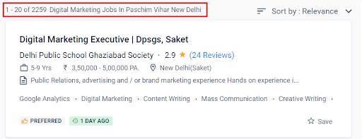 Digital Marketing Courses in Paschim Vihar