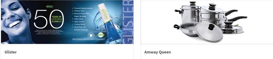 Marketing Strategy of Amway - A Case Study - Brand Portfolio