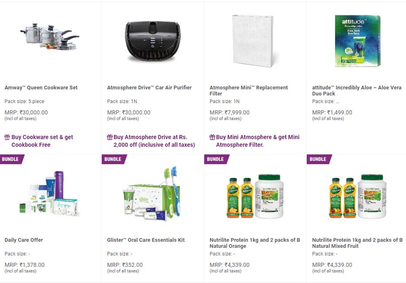 Marketing Strategy of Amway - A Case Study - Sale & Discounts