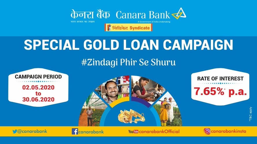 Marketing Strategy of Canara Bank - A Case Study - Special Gold Loan Campaign