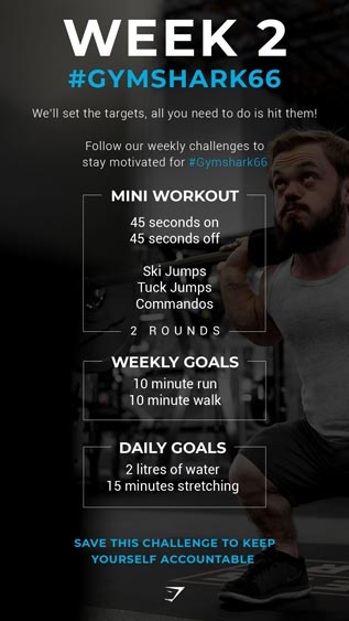 Marketing Strategy of Gymshark - A Case Study - Marketing Campaign - 66 Days