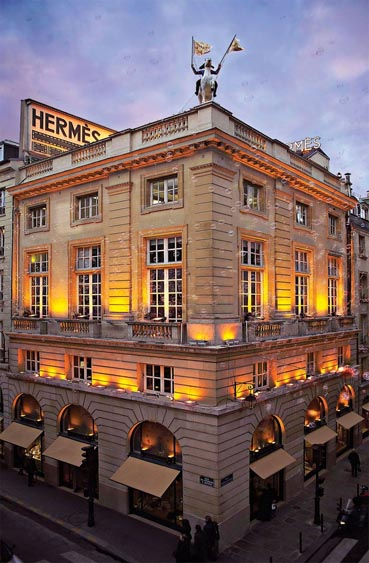 Marketing Strategy of Hermes - A Case Study - About Hermes - Headquarters