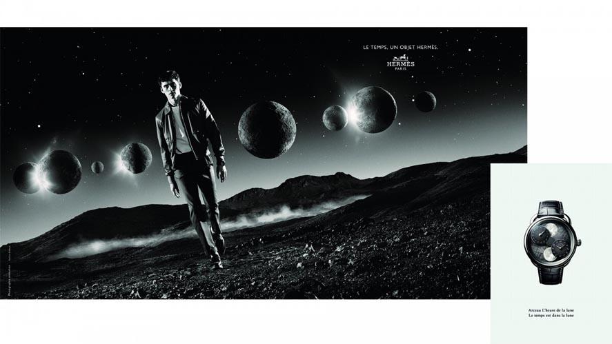 Marketing Strategy of Hermes - A Case Study - Advertising Campaigns - Le Temps, un objet Hermès (Time, An Hermès Object)