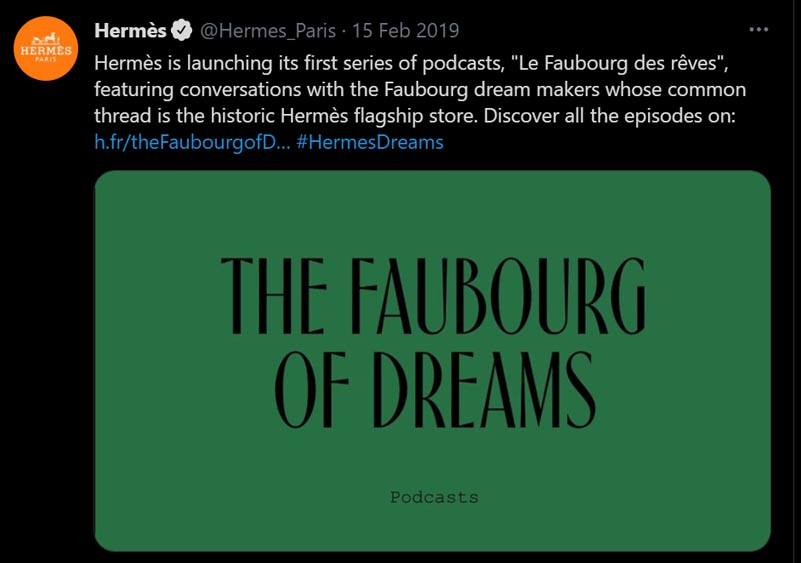 Marketing Strategy of Hermes - A Case Study - Podcasts