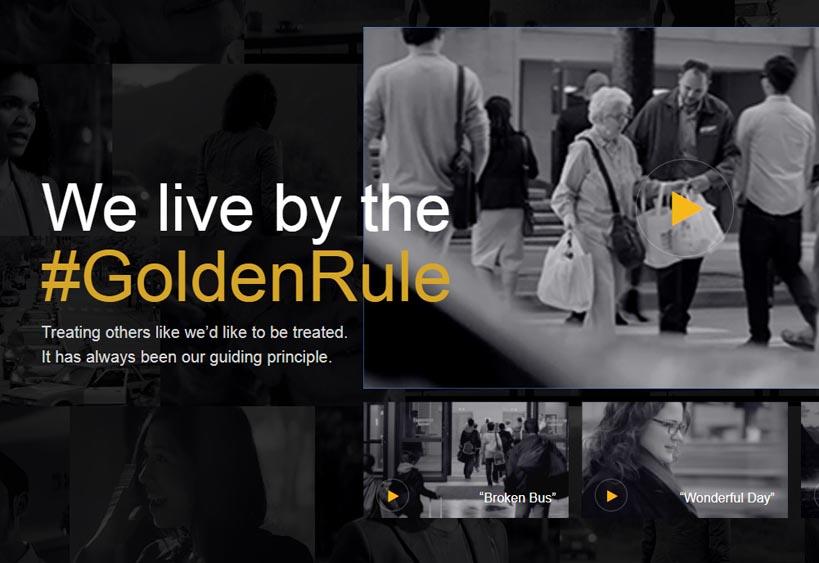Marketing Strategy of Marriott International - A Case Study - Marketing Campaign - Golden Rule