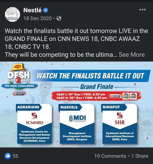 Marketing Strategy of Nestle - A Case Study - Digital Marketing - Social Media - Facebook