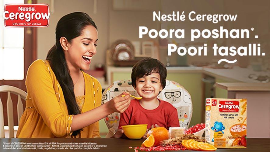 Marketing Strategy of Nestle - A Case Study - Marketing Campaign - A Caring Campaign Poora Poshan Poori Tasalli