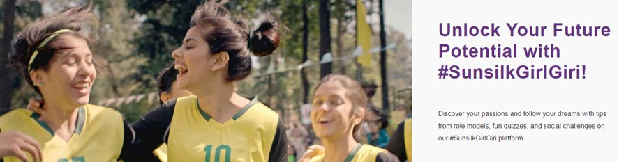 Marketing Strategy of Sunsilk - A Case Study - Advertising & Marketing Campaigns - Sunsilk Girl Giri