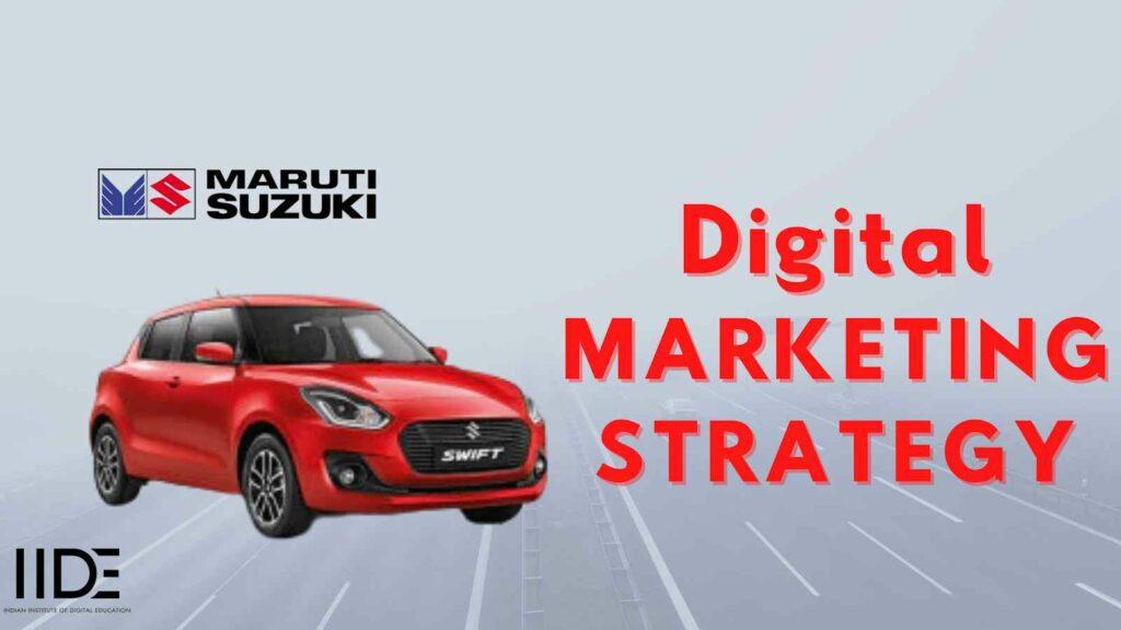 Maruti Suzuki Marketing Case Study - About Maruti Suzuki