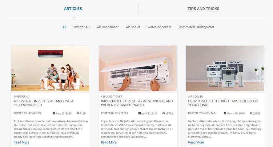 Voltas Marketing Strategy - A Case Study - Digital Marketing Strategy - Content Marketing Strategy