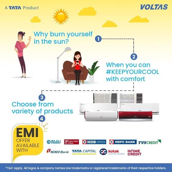 Voltas Marketing Strategy - A Case Study - Marketing Mix - Promotion Strategy