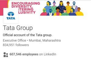 Tata Group Marketing Strategy Case Study- Social Media Presence- LinkedIn | IIDE