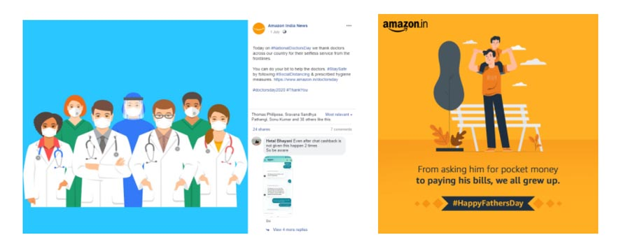 Marketing Strategy of Amazon - A Case Study - Digital Marketing Strategy - Social Media Strategy - Facebook - Topical Promotions