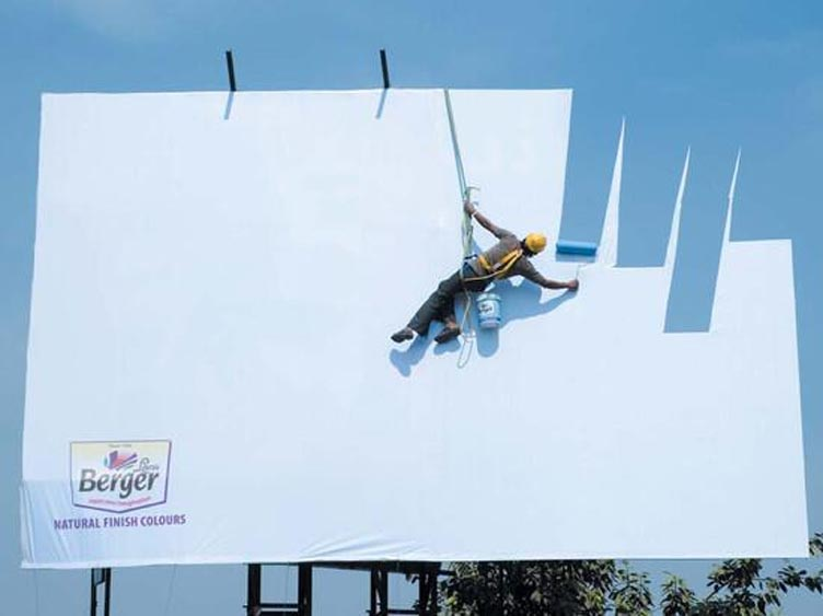 Marketing Strategy of Berger Paints - A Case Study - Outdoor Advertising