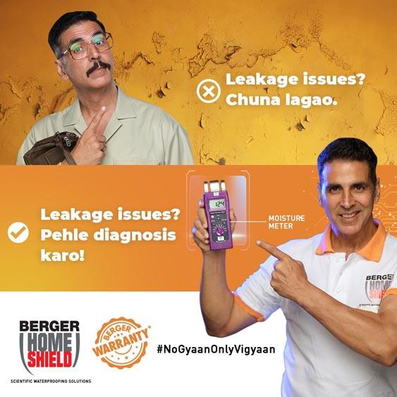 Marketing Strategy of Berger Paints - Brand Ambassadors - Akshay Kumar