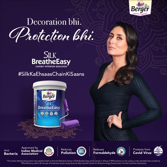 Marketing Strategy of Berger Paints - Brand Ambassadors - Kareena Kapoor