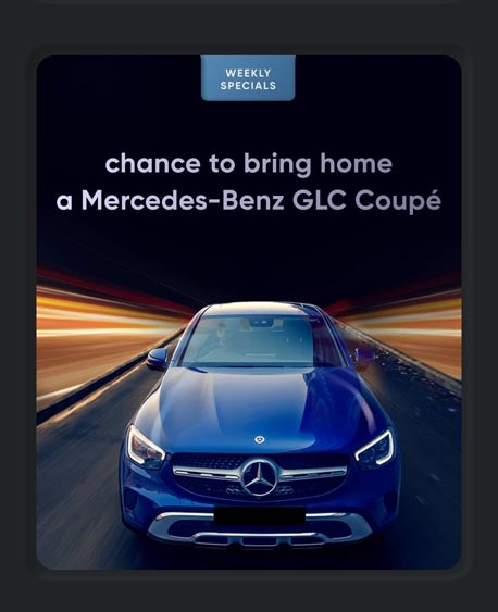 Marketing Strategy of Cred - A Case StudyMercedes GLC Coupe Giveaway