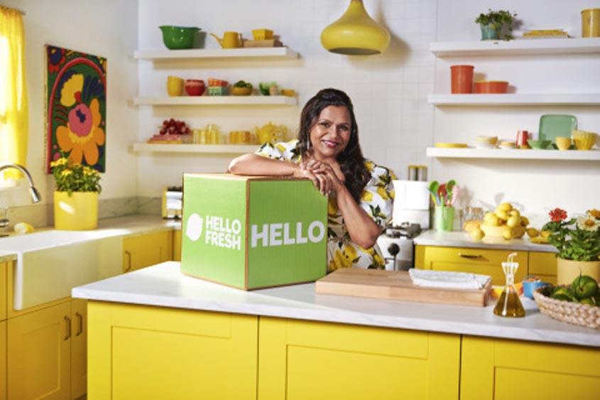 Marketing Strategy of HelloFresh - A Case Study -HelloFresh X Mindy Kaling and Micro-influencers Campaign