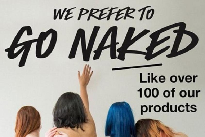 Marketing Strategy of Lush - A Case Study - Marketing Campaign - Go Naked