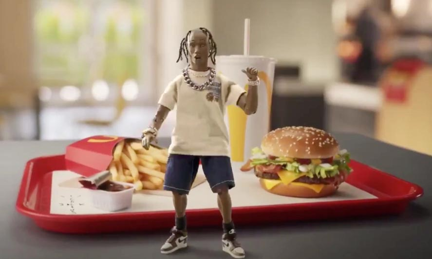 Marketing Strategy of Mcdonald's - A Case Study - Collaborations - Travis Scott Meal