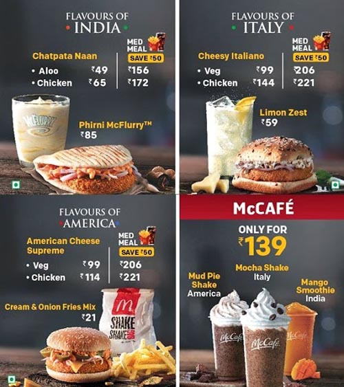 Marketing Strategy of Mcdonald's - A Case Study - Marketing Mix - Product Strategy