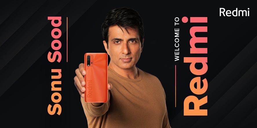 Marketing Strategy of Xiaomi Redmi - A Case Study - Brand Ambassadors - Sonu Sood