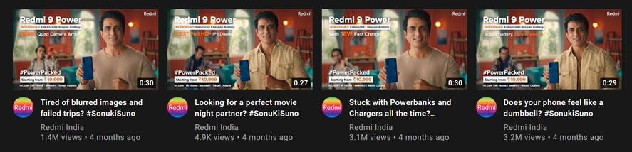 Marketing Strategy of Xiaomi Redmi - A Case Study - Marketing Campaigns - Sonu Ki Suno