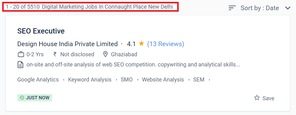 digital marketing courses in Connaught Place