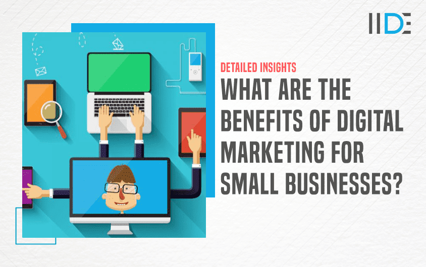 Benefits of Digital marketing for small businesses - featured image