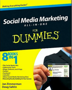 Digital Marketing Books - Social Media All-in-One for Dummies by Jan Zimmerman and Doug Sahlin