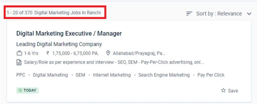 Digital Marketing Courses in Ranchi - jobs