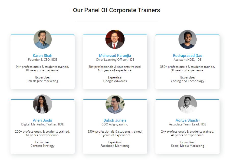 Leadership Coaching - IIDE Corporate Trainers
