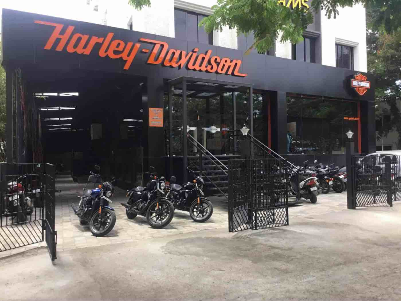 SWOT Analysis of Harley Davidson - Harley Davidson showroom | IIDE
