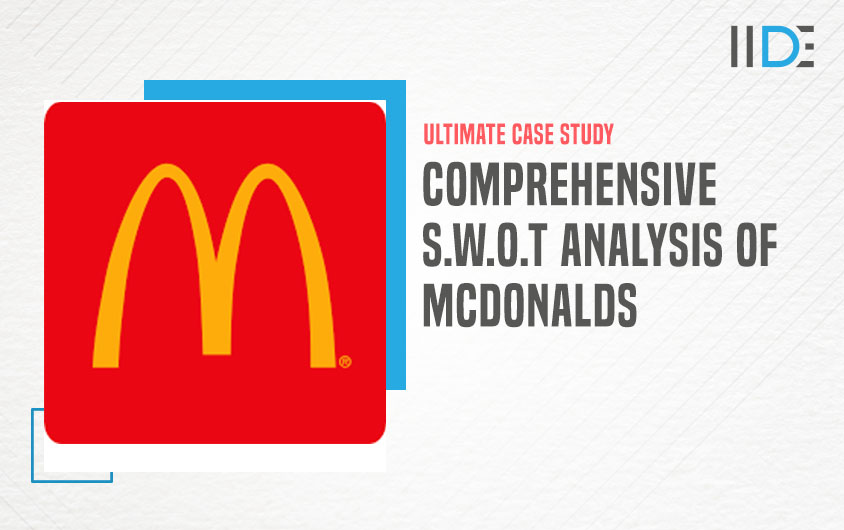 Mcdonalds brand logo - SWOT Analysis of Mcdonalds | IIDE