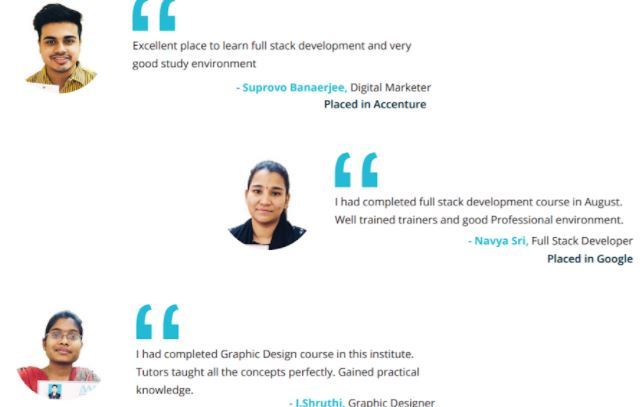seo courses in hyderabad - ace web academy student reviews
